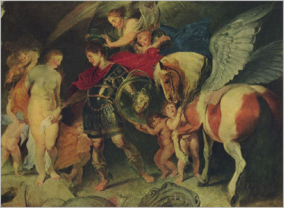 Rubens Andromeda The constellation Andr...